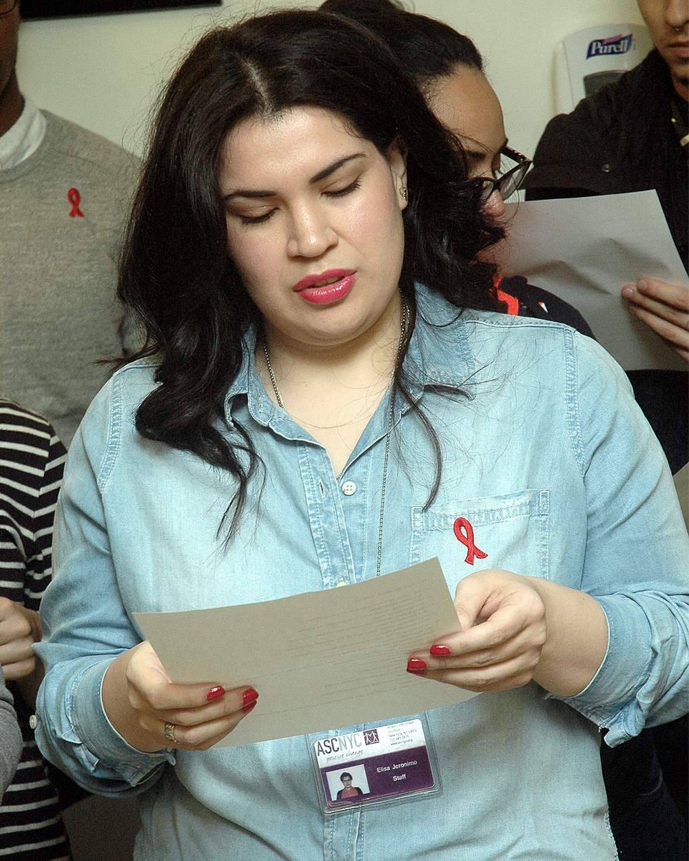 AIDS In Our Community: Reading of Names - Elise Jeronimo
