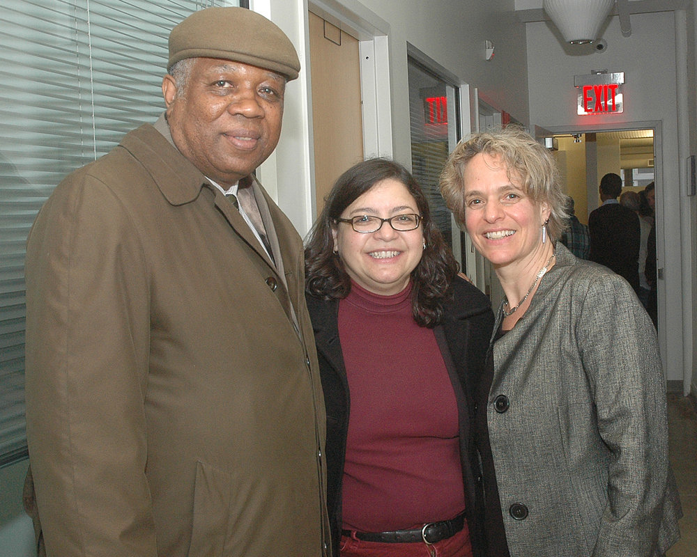 ASCNYC Board Chair Bill Toler, NYC Council Member Rosie Mendez and ASCNYC CEO/ED Sharen Duke