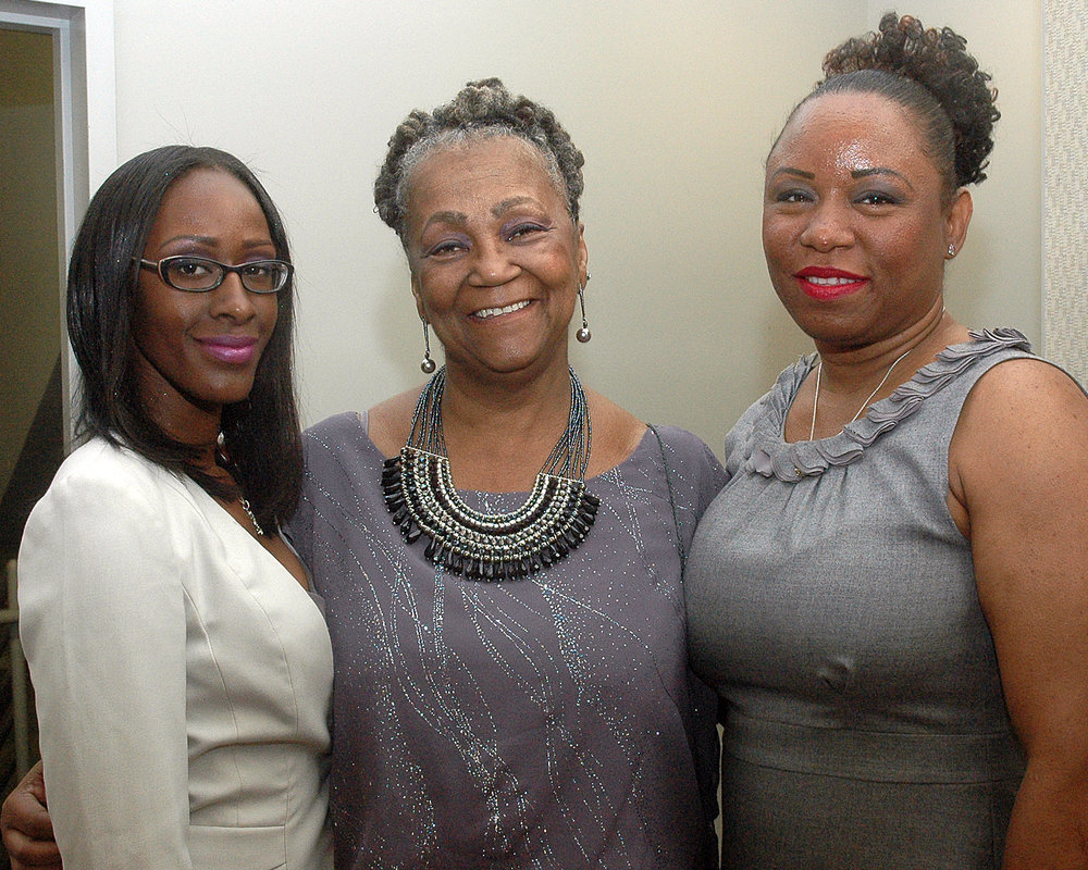 Malika Minott, Joyce Myricks and Myrthelle Lauture