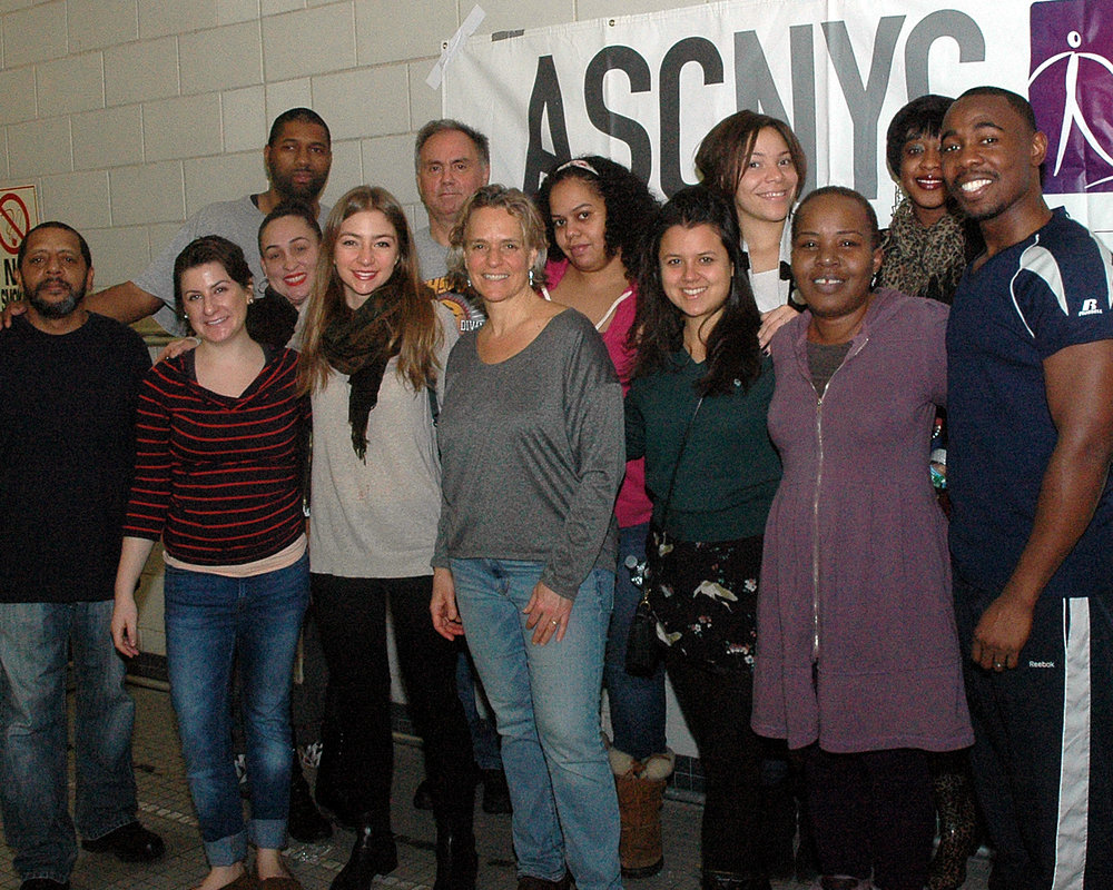 Sharen Duke with ASCNYC staff members
