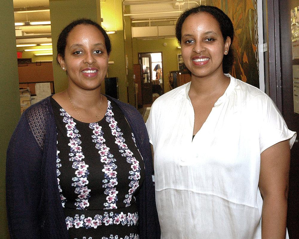 Tadessech Hailu and Taitu Hailu