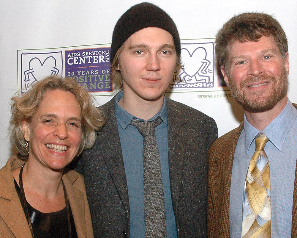 Paul Dano, CEO Sharen Duke and Guest