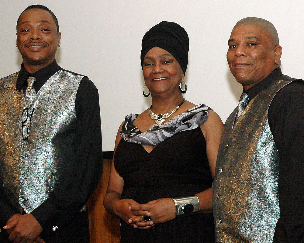 Stephen Williams, Joyce Myricks and Benjamin Vines