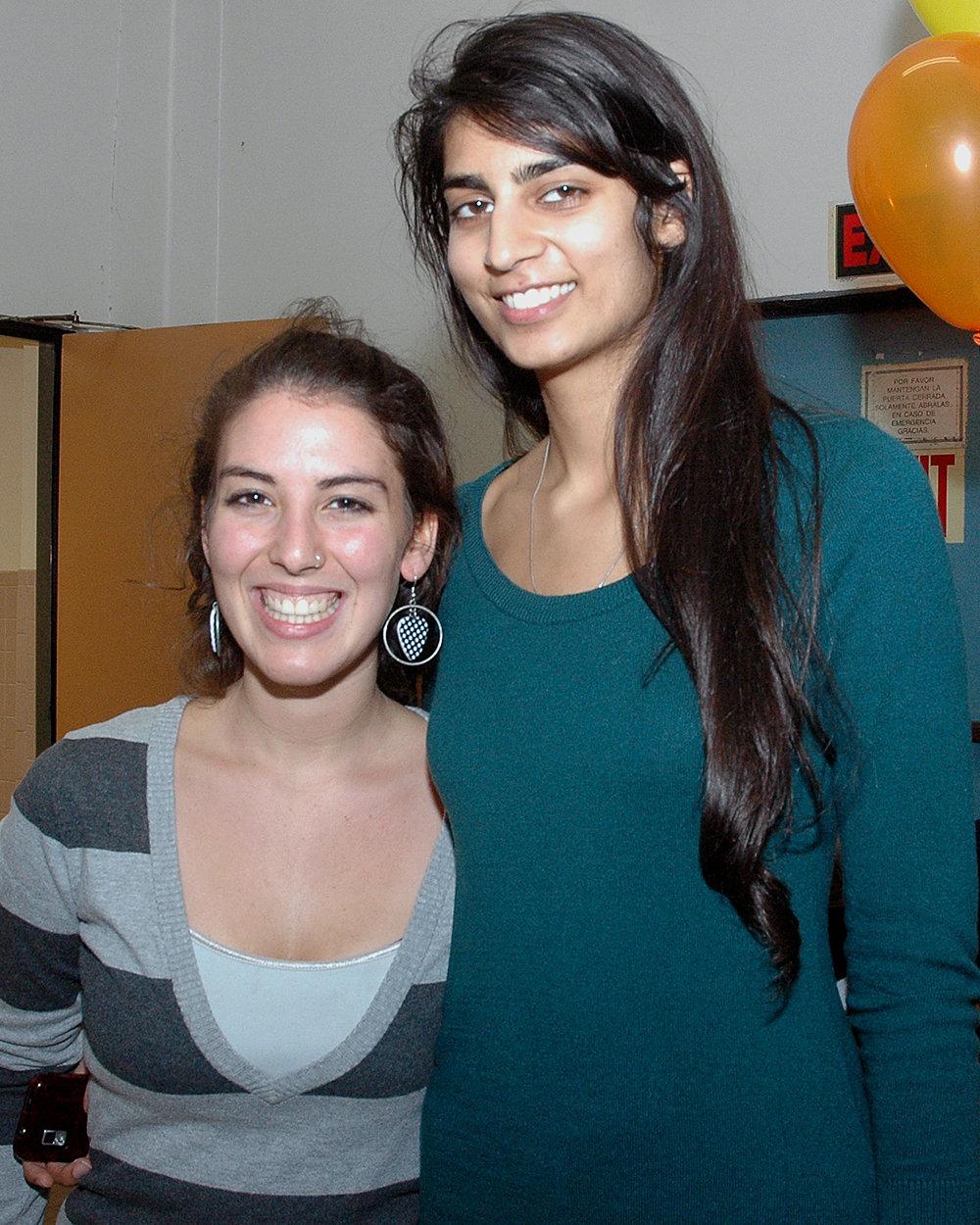 Keren Bezner and Monica Shah