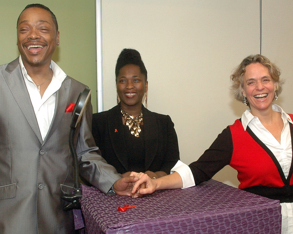 Stephen Williams, Brenda Starks-Ross and Sharen Duke