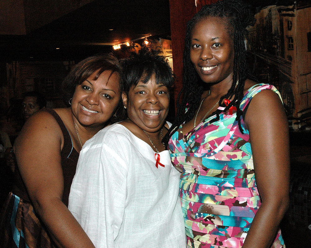 Fulvia Alvelo, Diane Williams and Vanessa Sullivan