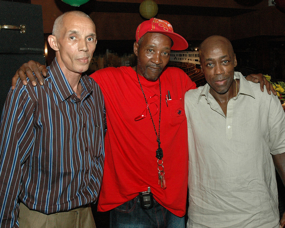 Edwin LaGuerra, Charles Hodges and Roland Walters