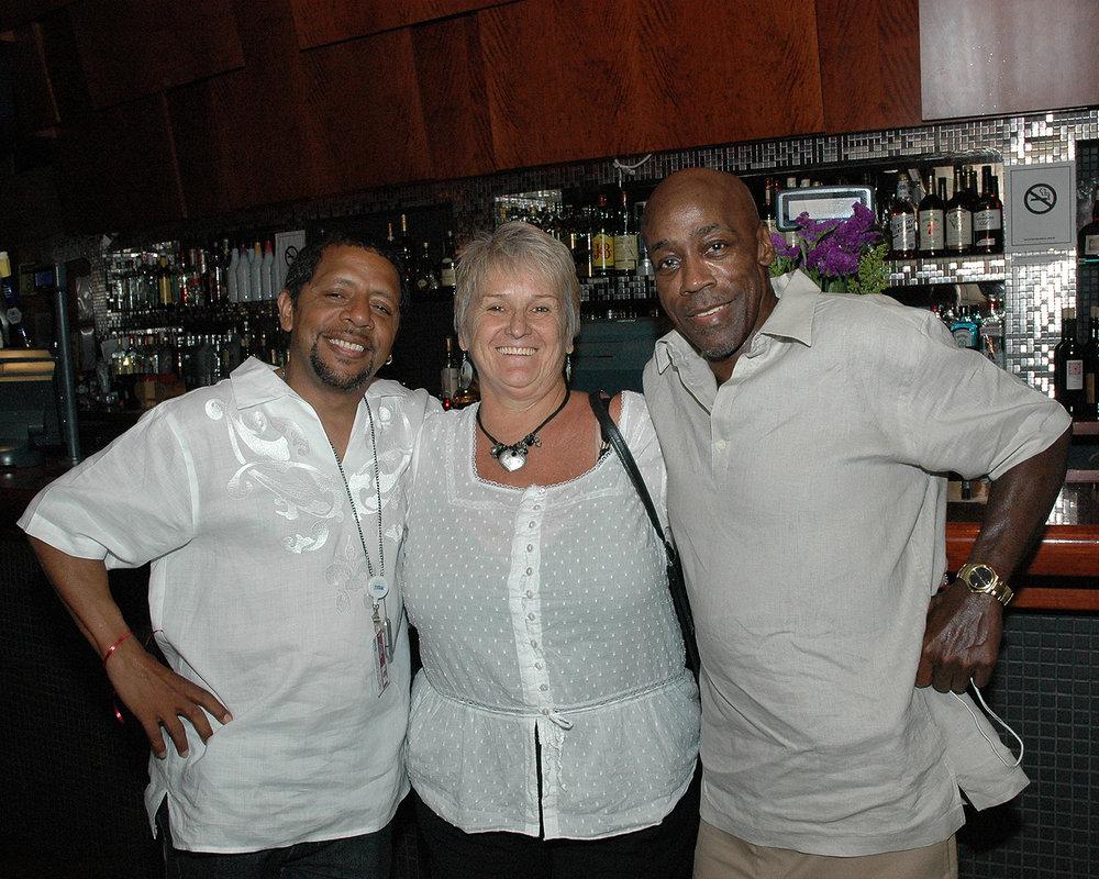 Manuel Ruiz, Patricia Woods and Roland Walters