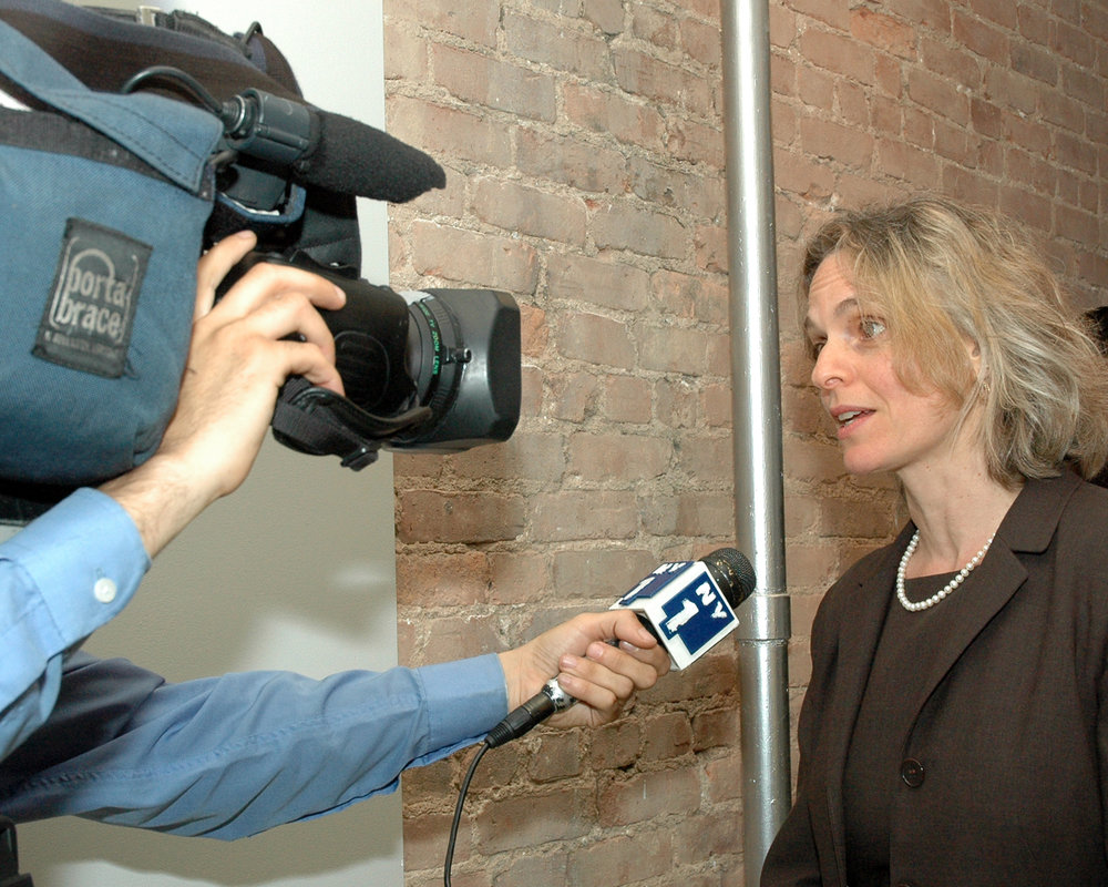 NY1 interviews Sharen Duke