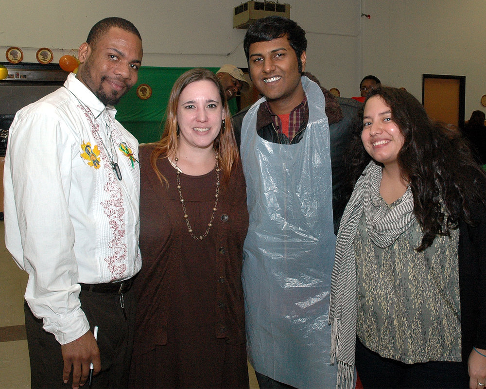 James Allen, Marissa Darcy, Stephen Sukumaran and Stephanie Crespo