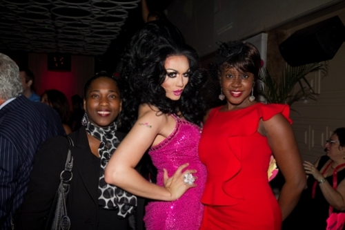 Guest with Celebrity Host Manila Luzon and ASC COO Brenda Starks-Ross