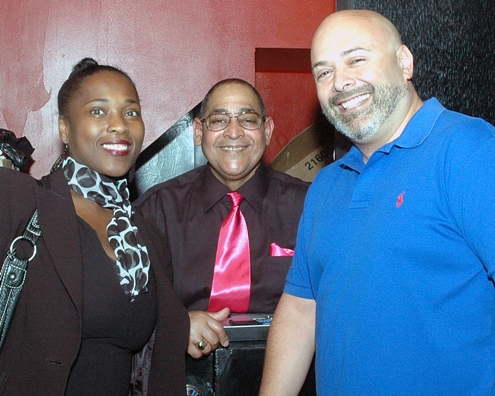 Guests at Safer Sex in the City with ASC COO Brenda Starks-Ross