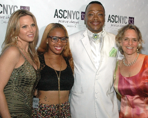 ASCNYC CEO Sharen Duke with Savanna Samson, Shay Star and Guest
