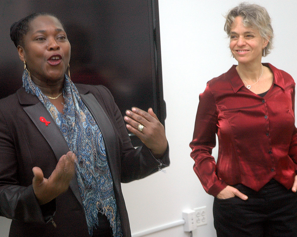 Brenda Starks-Ross, Deputy Executive Director/COO, and Sharen Duke, Executive Director/CEO
