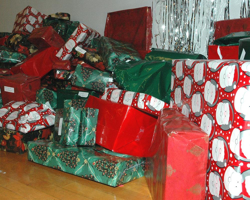 Gifts a-plenty