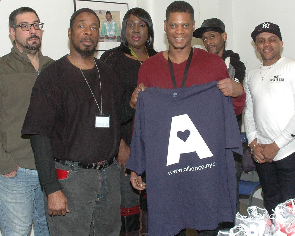 Devon Boyd with his team