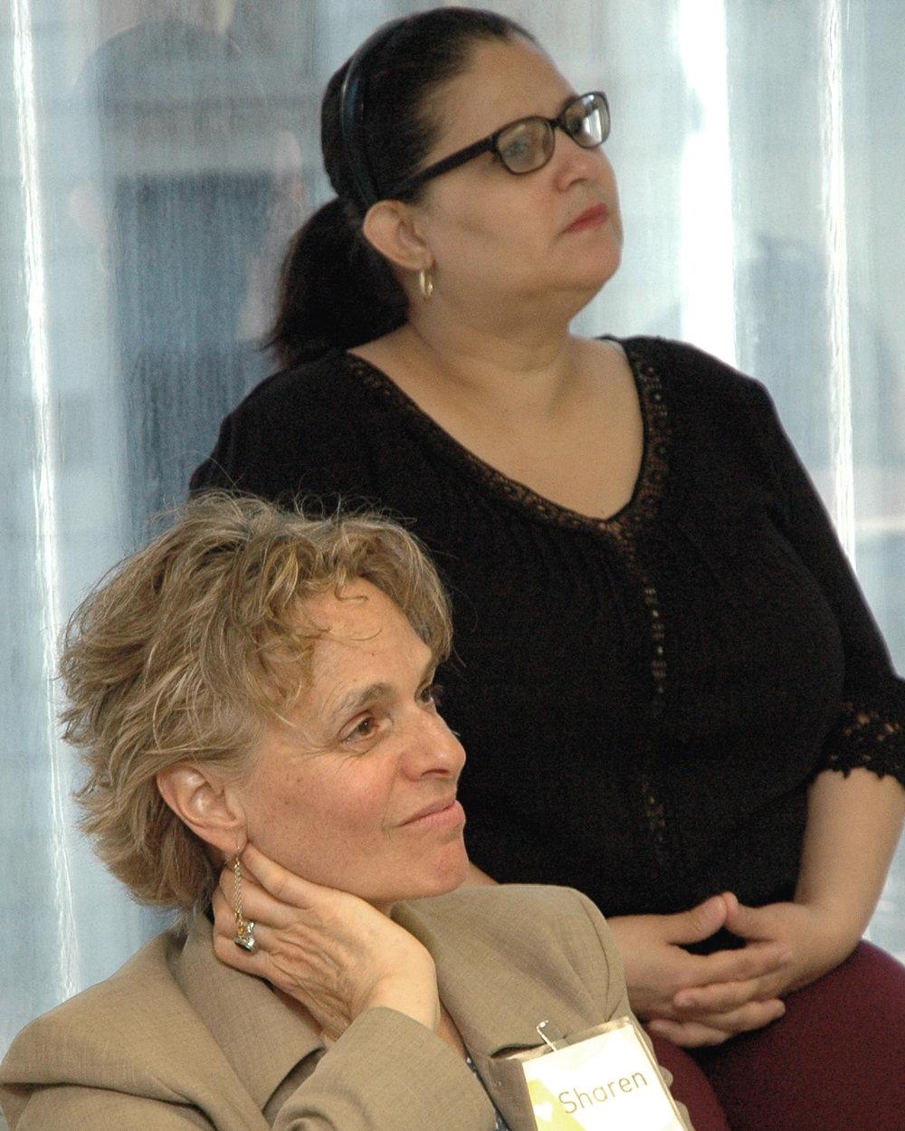 Diana Ayala, NYC Councilwoman and Sharen Duke, Executive Director/CEO