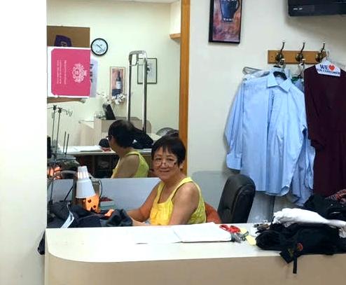 Eileen Wu; Tailor