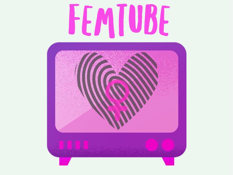 Art created by Katie Scarlett for FemTube
