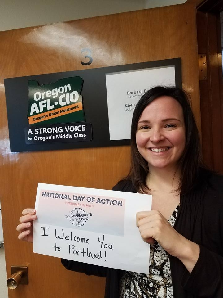 Chelsea Watson, AFL-CIO