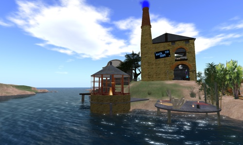 Back to Mine in Second Life