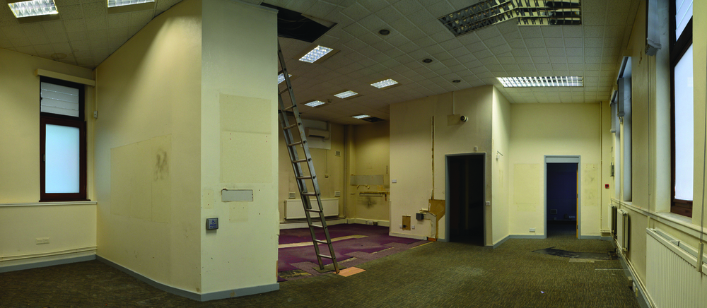 Stage 1.. The beginning, an 80's NatWest clad interior