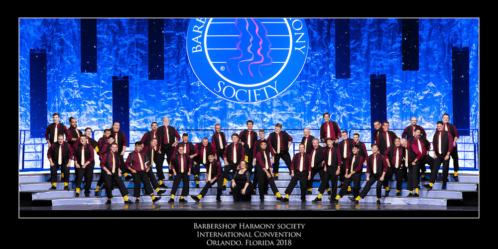 Harmonic Collective's first time competing at the Barbershop Harmony Society International Convention!