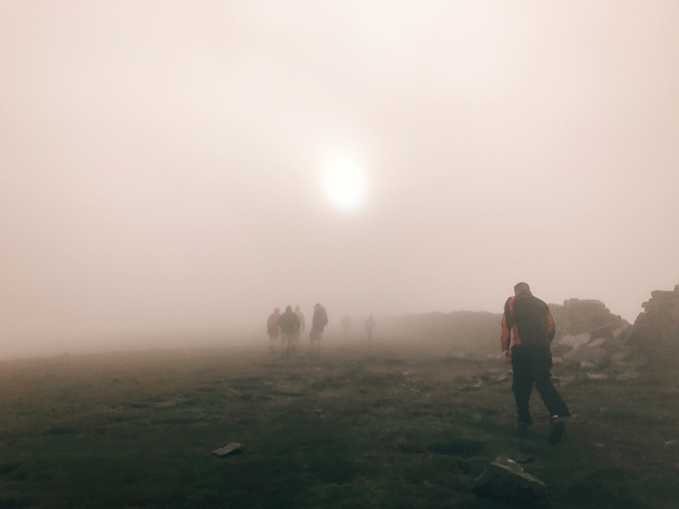 Pretty much the conditions during the first three peaks.
