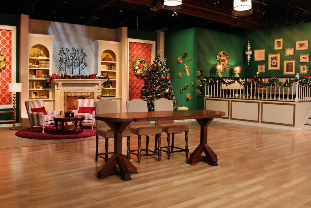"Art Direction for Food Network's ""Holiday Gingerbread Showdown"""