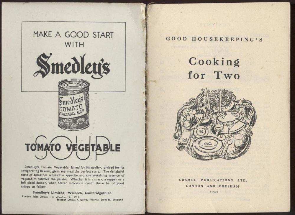 Antique cooking book, photo from http://www.retonthenet.co.uk