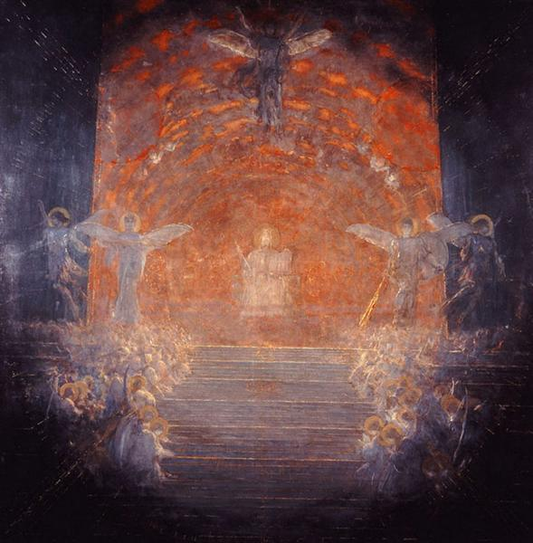 Behold the Celestial Bridegroom Cometh    - Nikolaos Gyzis