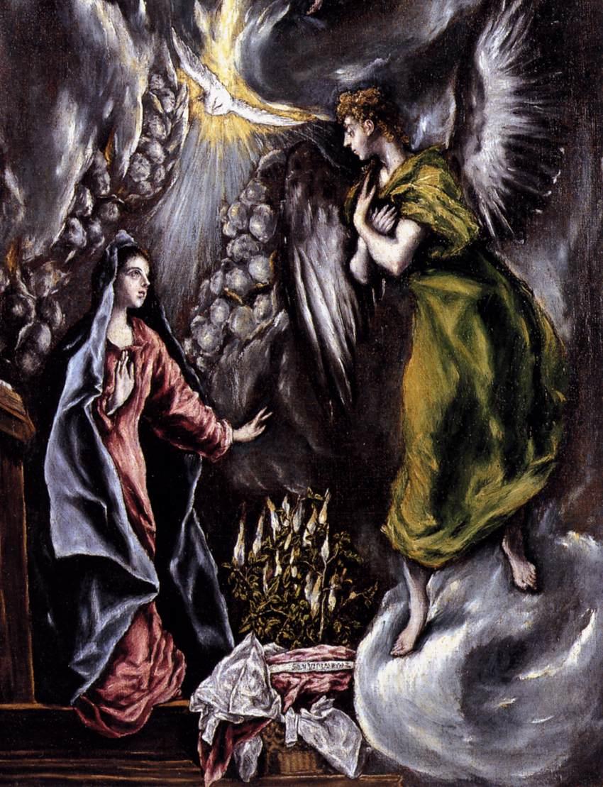 Annunciation -  El Greco