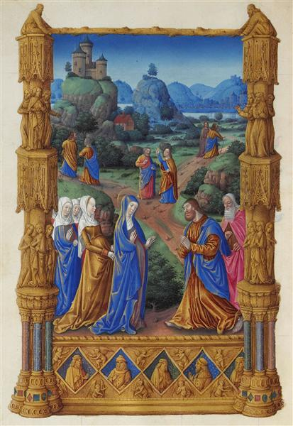 The Apostles Going Forth to Preach     Limbourg Brothers