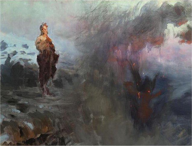 Temptation -  Ilya Repin