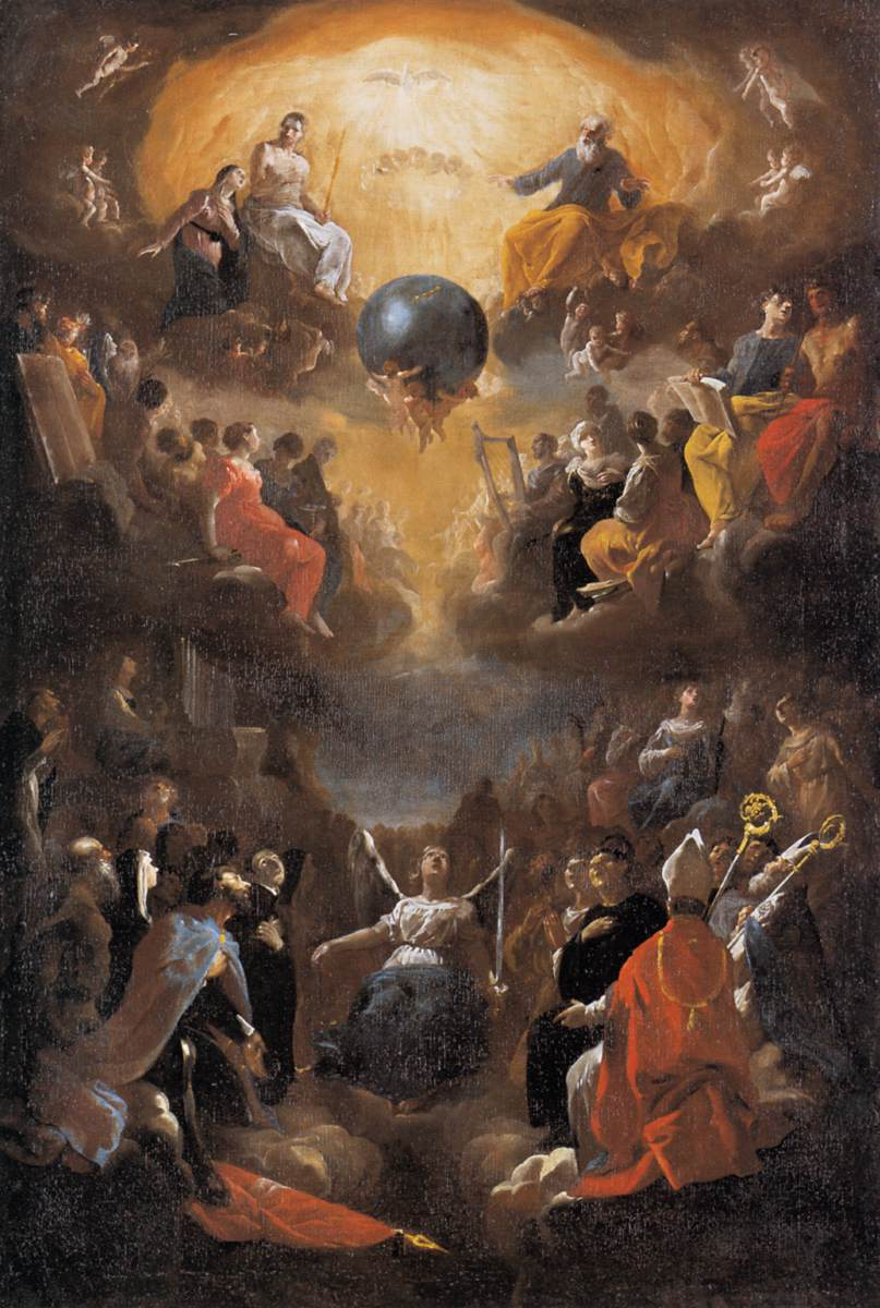 Adoration of the Holy Trinity  Johann Heinrich Schönfeld