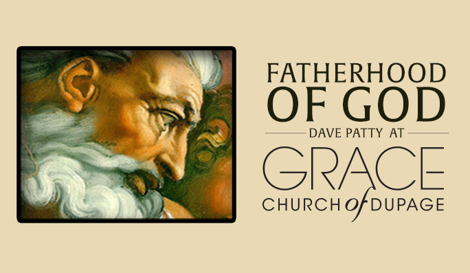 Fatherhood of God  Our earthly fathers have each failed us.  They've left us with wounds, broken behavior, and relationships.  How can we be healed of these wounds and find the path to lasting transformation?   Dave Patty , founder and president of Josiah Venture, just finished writing   Father God: Daring to Draw Near  .  He came to Grace Church of DuPage to share his findings with us from God's Word.   There are four different sessions.  To get the most out of this series, we encourage you to download the Student Notes below and to follow along with the slides provided.