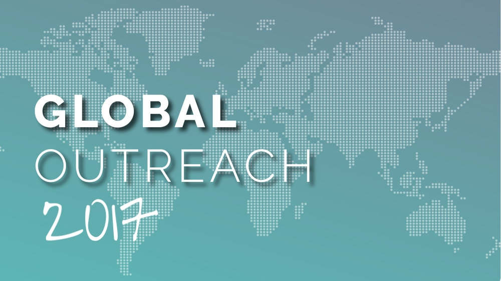 Global Outreach Focus Month: 2017