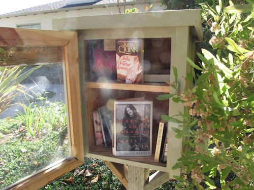 Search for Little Free Libraries on this  page .