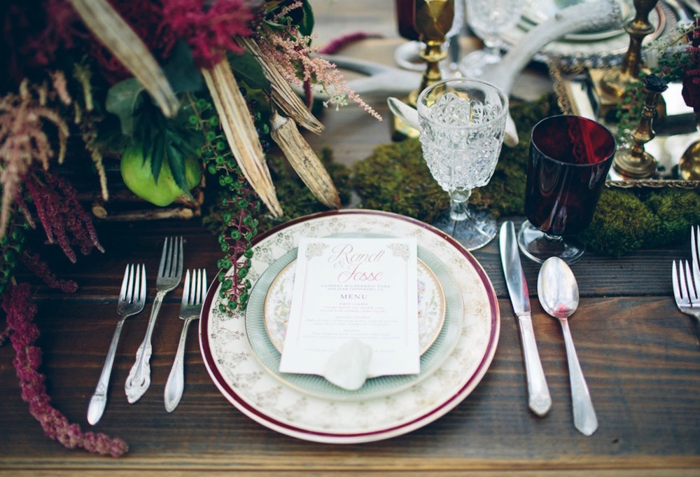 Vintage China Rentals in Orange County for Weddings Events Parties Photo Shoots - & Cherished Rentals