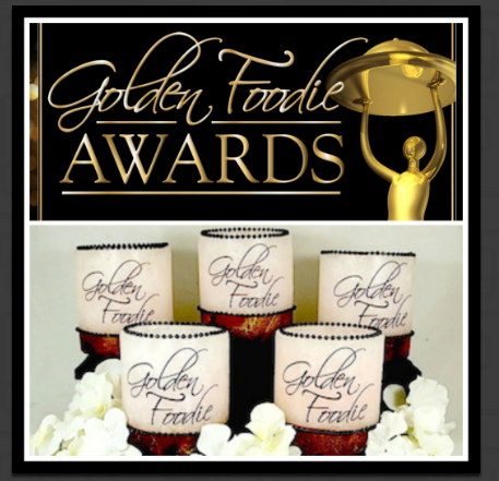 Wishful Wicks was chosen to be the official centerpiece luminary for the annual Golden Foodie Awards in Newport Beach Ca.