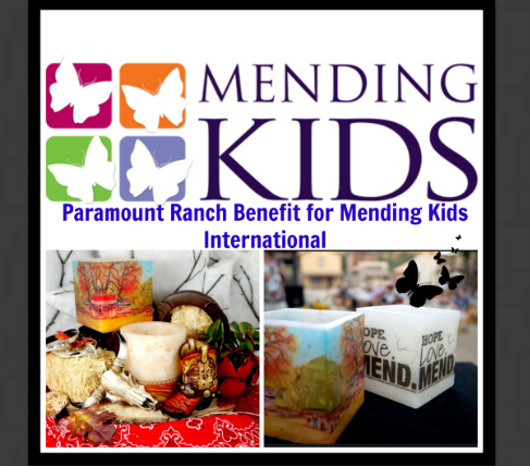 We created custom luminaries for the Mending Kids International benefit at the Paramount Ranch in the beautiful Santa Monica CA mountains.