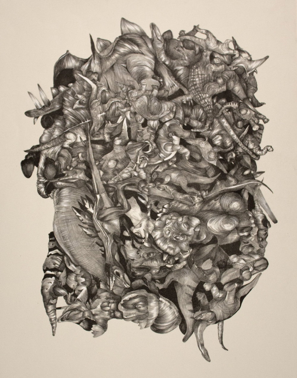 """Jurassic Clump"" Lithography 22""x30"""