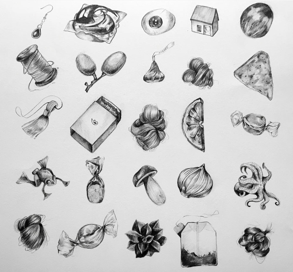 """Pocket Samples"" Graphite 12""x12"""