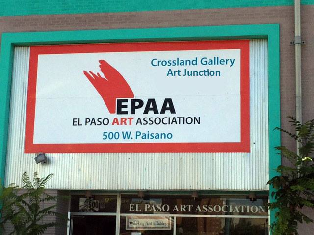 The El Paso Art Association including ARTJunction studios, Crossland Gallery, lending library and office space.