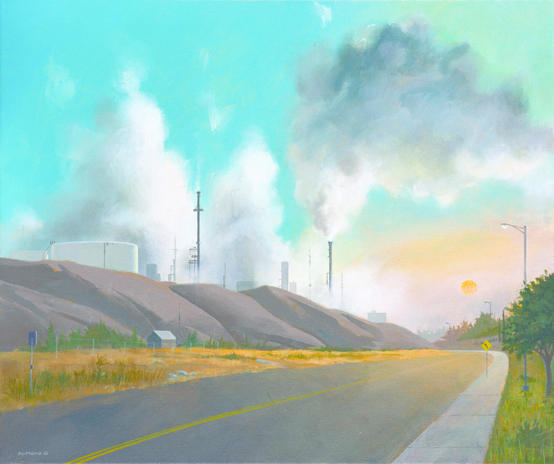 "Judges Award -- Paul DuMond – ""Refining Area at Sunrise"""