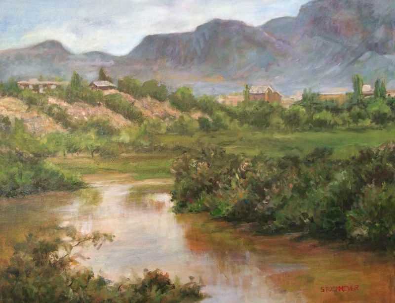 "Judges Award --Patricia Stockmeyer – ""The Rio Grande"""