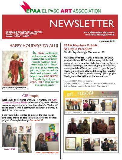 Dec 2016 news