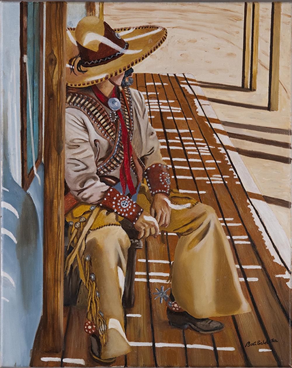 Bert Saldana -- Vaquero