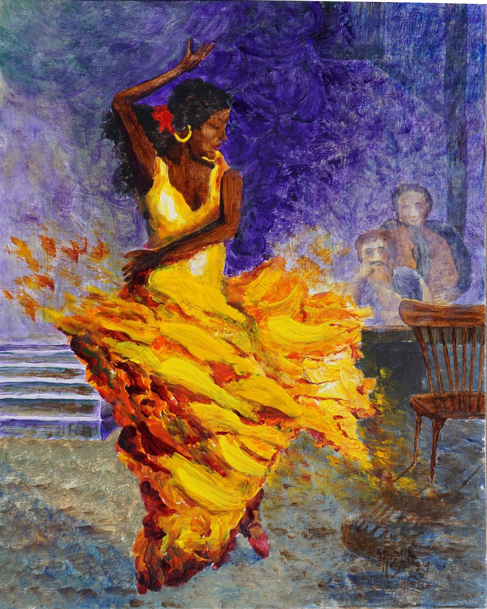 Darrell McGahhey -- Flamingo Dancer