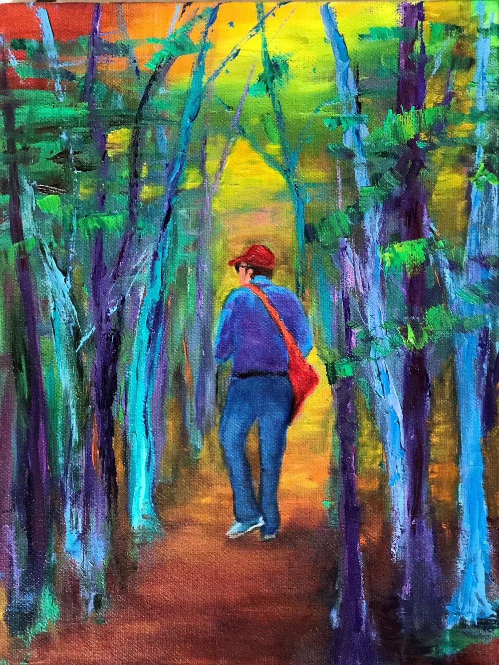 Marilyn Silverstein -- Walk Through the Woods